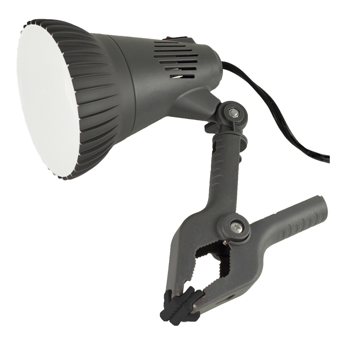 Picture of Powerzone O-CLN-1000 Clamp Light, LED Lamp, Black