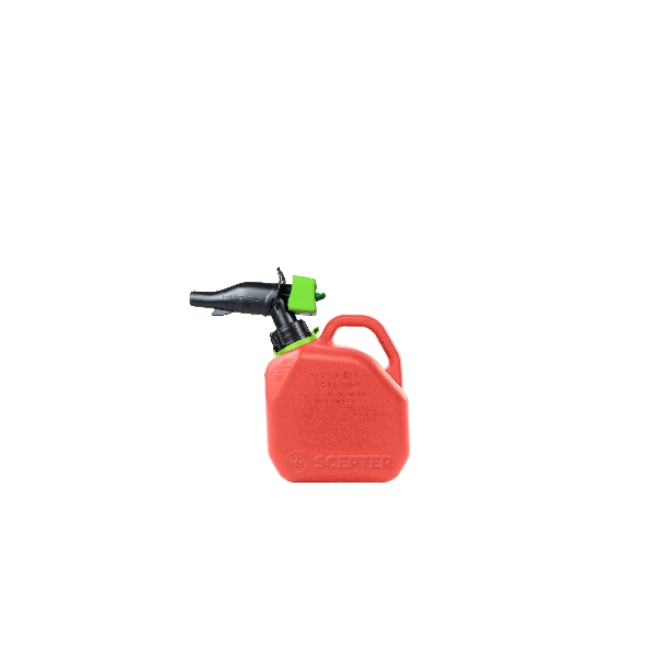 Picture of Scepter FR1G101 Gas Can, 3.8 L Capacity, HDPE, Red