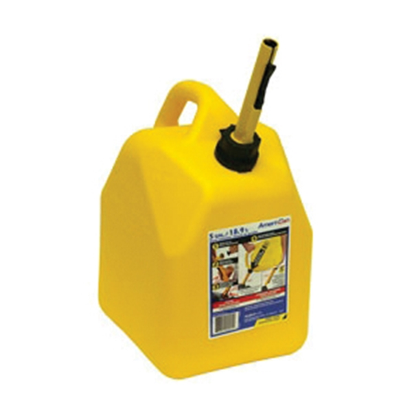 Picture of Scepter FG4D511 Diesel Can, 5 gal Package, Polypropylene, Yellow
