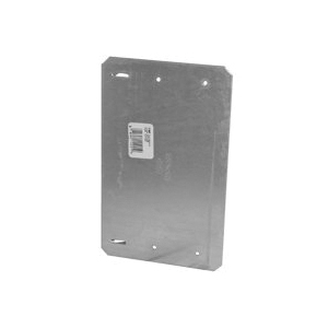 Picture of MiTek ICPL Series ICPL516-TZ Protection Plate, 5 in L, 16-1/4 in W, 1/16 in Thick, Pine, Zinc