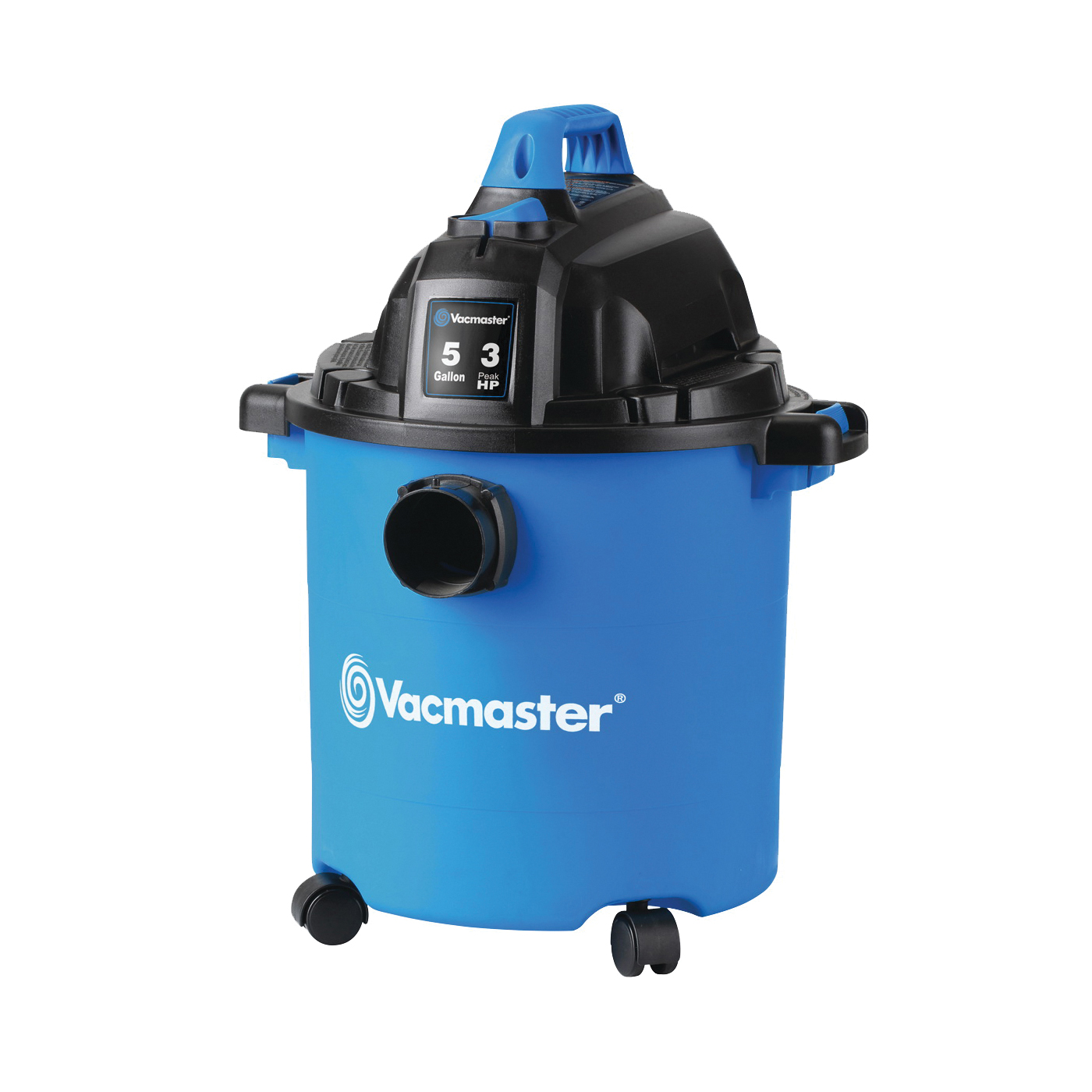 Picture of Vacmaster Professional VJC507P Wet/Dry Vacuum Cleaner, 5 gal Vacuum, Foam Sleeve Filter