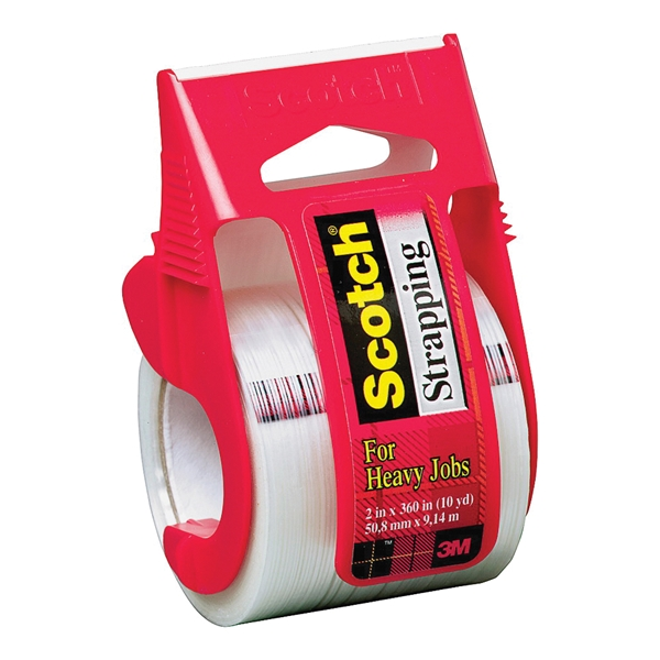 Picture of Scotch 350 Strapping Tape, 360 in L, 2 in W