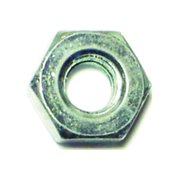 Picture of MIDWEST FASTENER 03751 Hex Machine Nut, Fine Thread, #10-32 Thread, Zinc, Zinc
