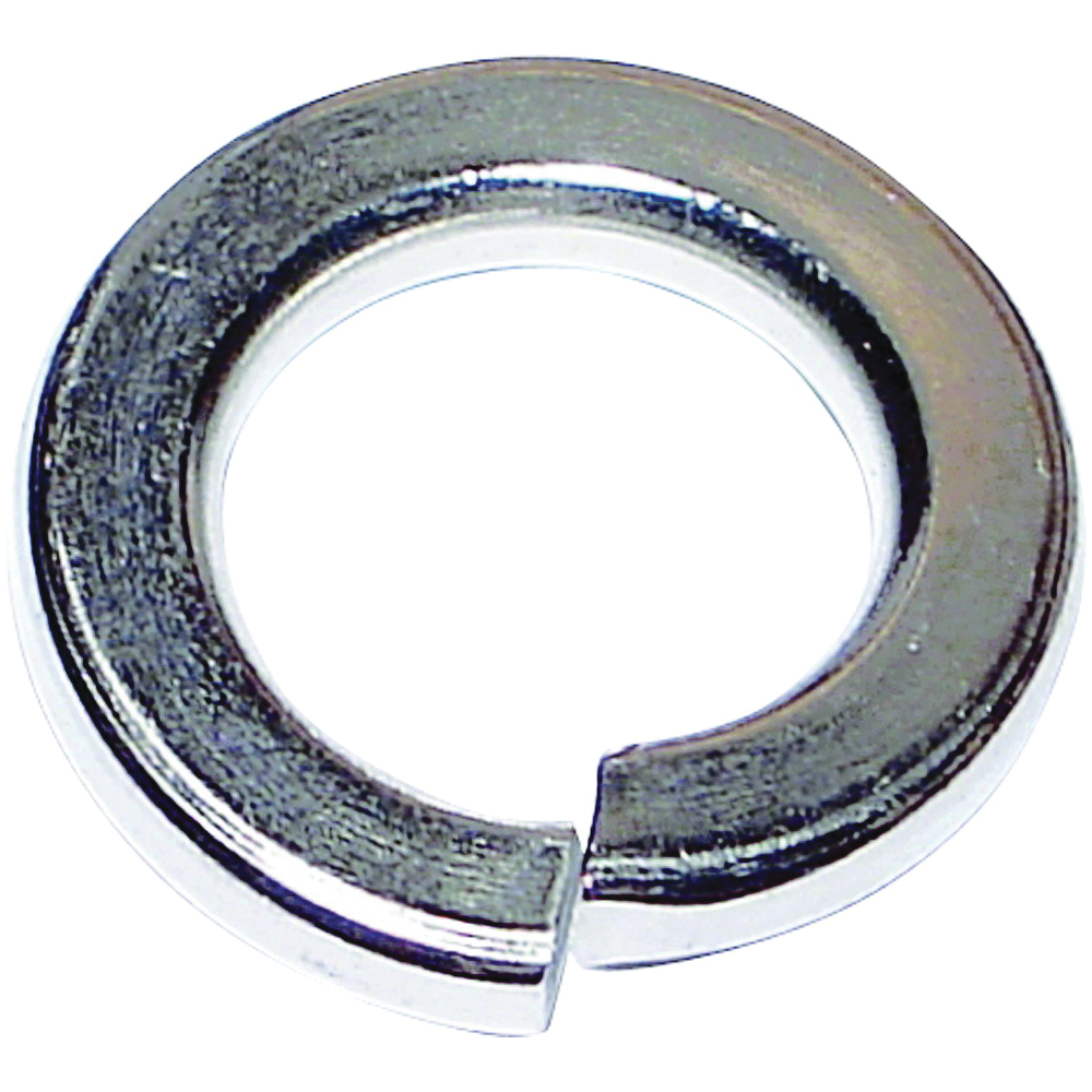 Picture of MIDWEST FASTENER 03946 Split Lock Washer, 3/8 in ID, 0.094 in Thick, Zinc, Zinc, 2 Grade, 100