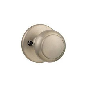 Picture of Kwikset 488CV 15 Dummy Door Knob, 2-3/16 in Dia Knob, Satin Nickel