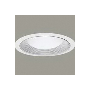 Picture of Halo Coilex 456W Slope Ceiling Baffle-Trim, Metal Body, White