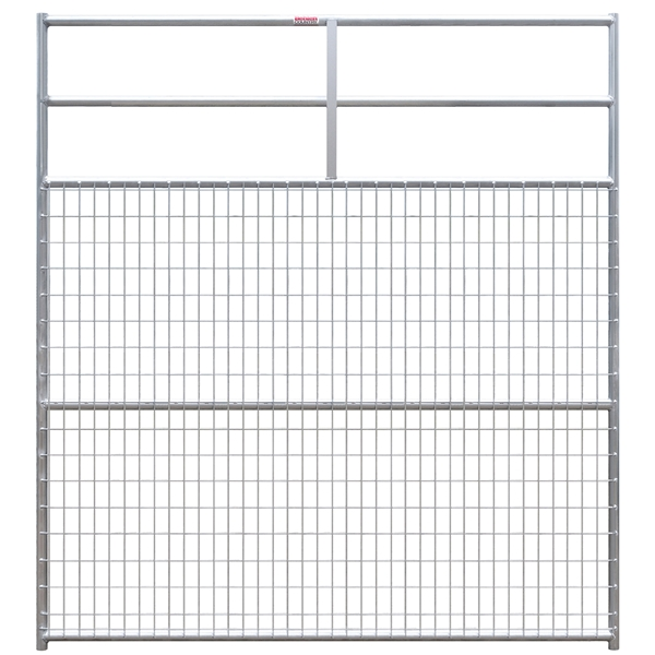 Picture of Behlen Country 40109088 Deer Gate, 8 ft L, 96 in H, Galvanized