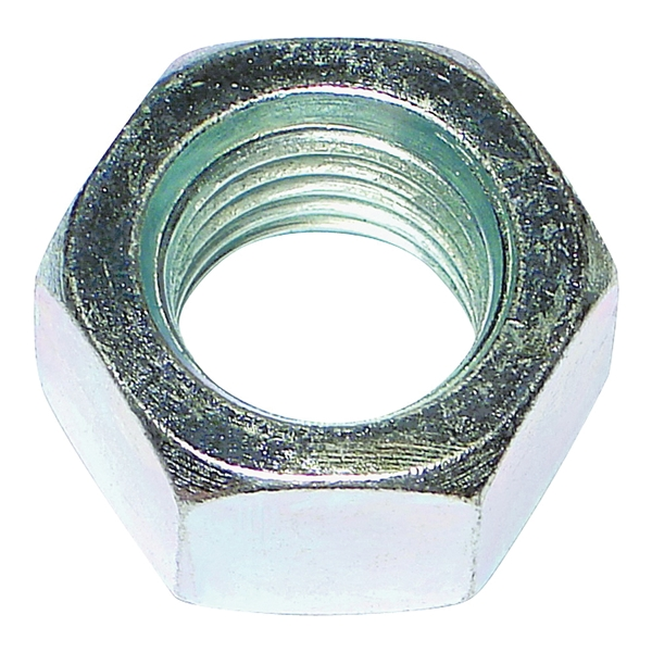 Picture of MIDWEST FASTENER 03671 Hex Nut, Coarse Thread, 5/16-18 in Thread, Zinc, Zinc, 2 Grade