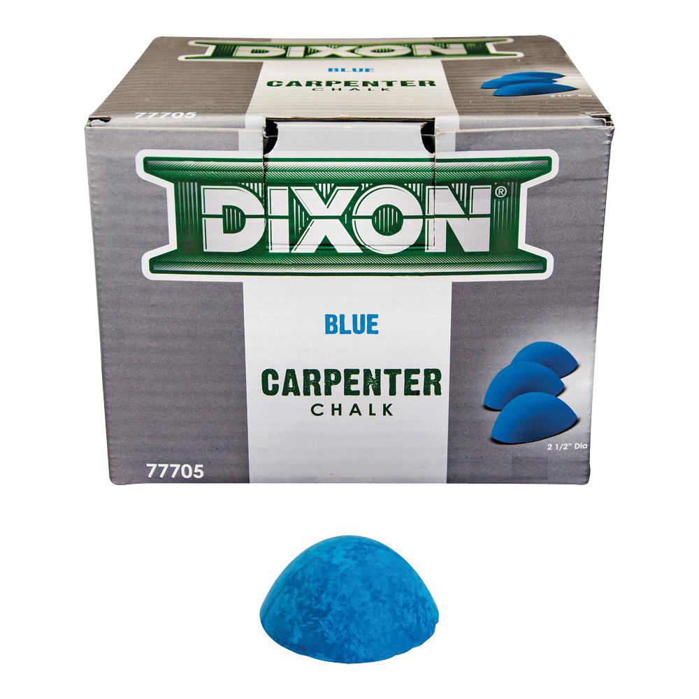 Picture of Dixon Ticonderoga 77705 Carpenter Chalk, Blue