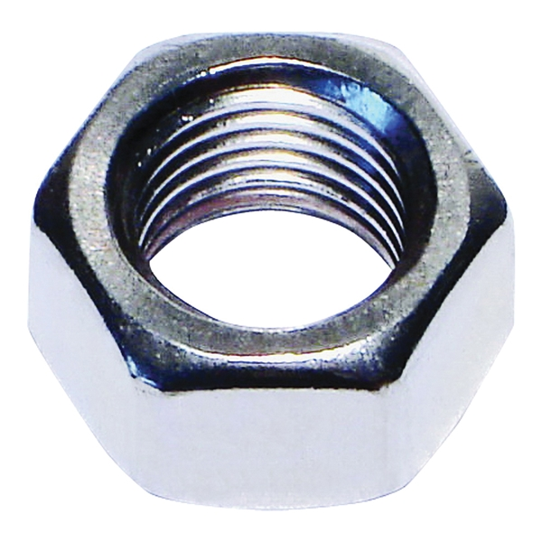 Picture of MIDWEST FASTENER 05271 Hex Nut, Coarse Thread, 5/16-18 in Thread, Stainless Steel