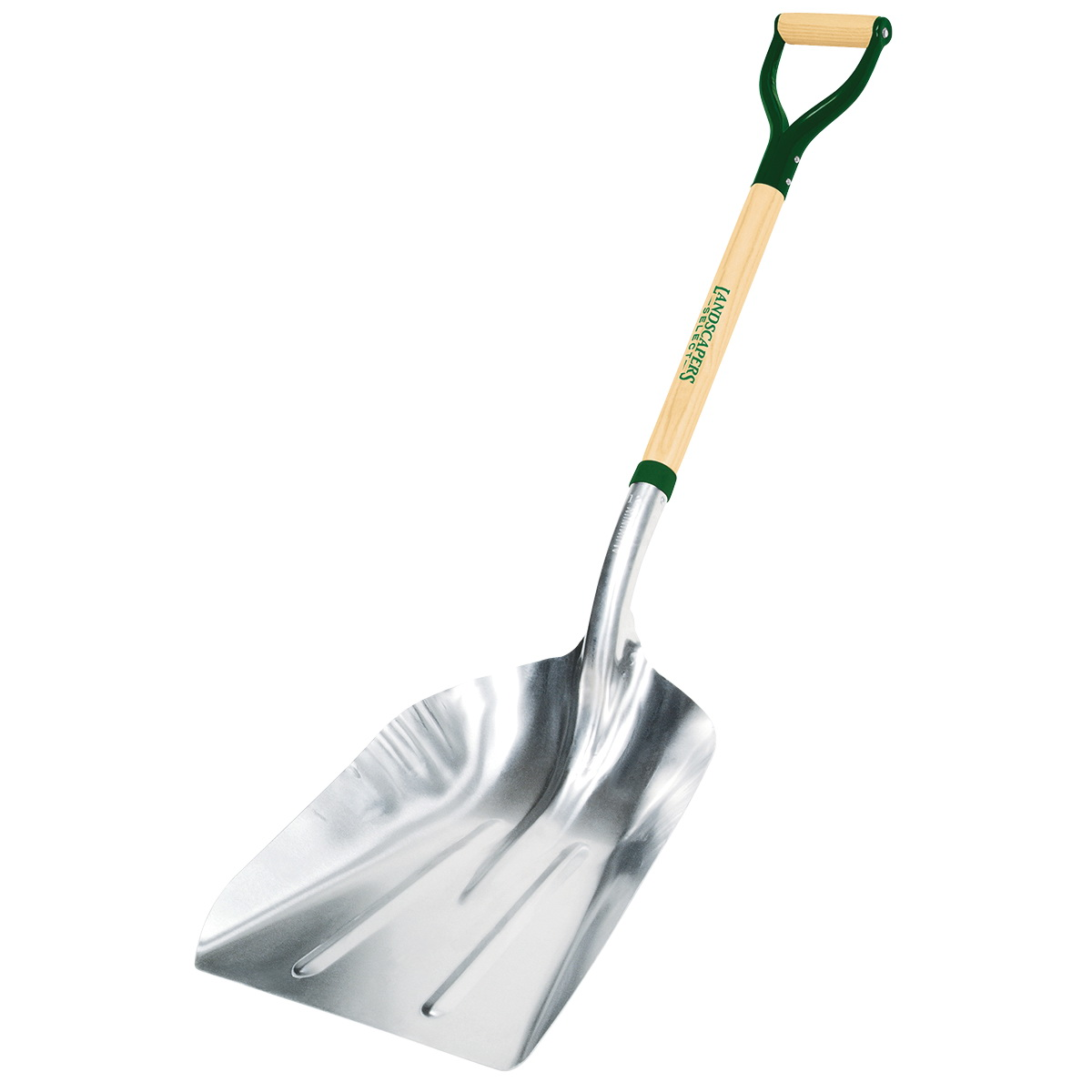 Picture of Landscapers Select 34592 Scoop Shovel, Aluminum Blade, Steel Handle, D-Shaped Handle