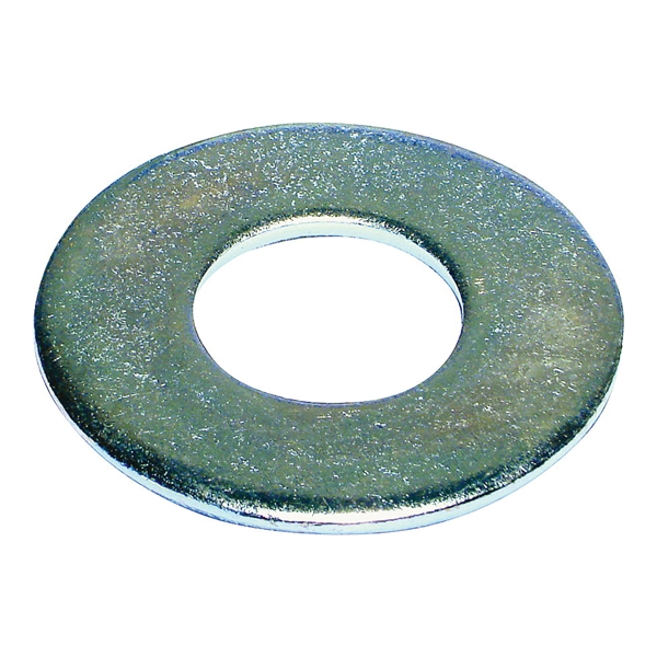 Picture of MIDWEST FASTENER 03835 Flat Washer, 3/16 in ID, Zinc, Zinc, USS Grade, 1625, Pack