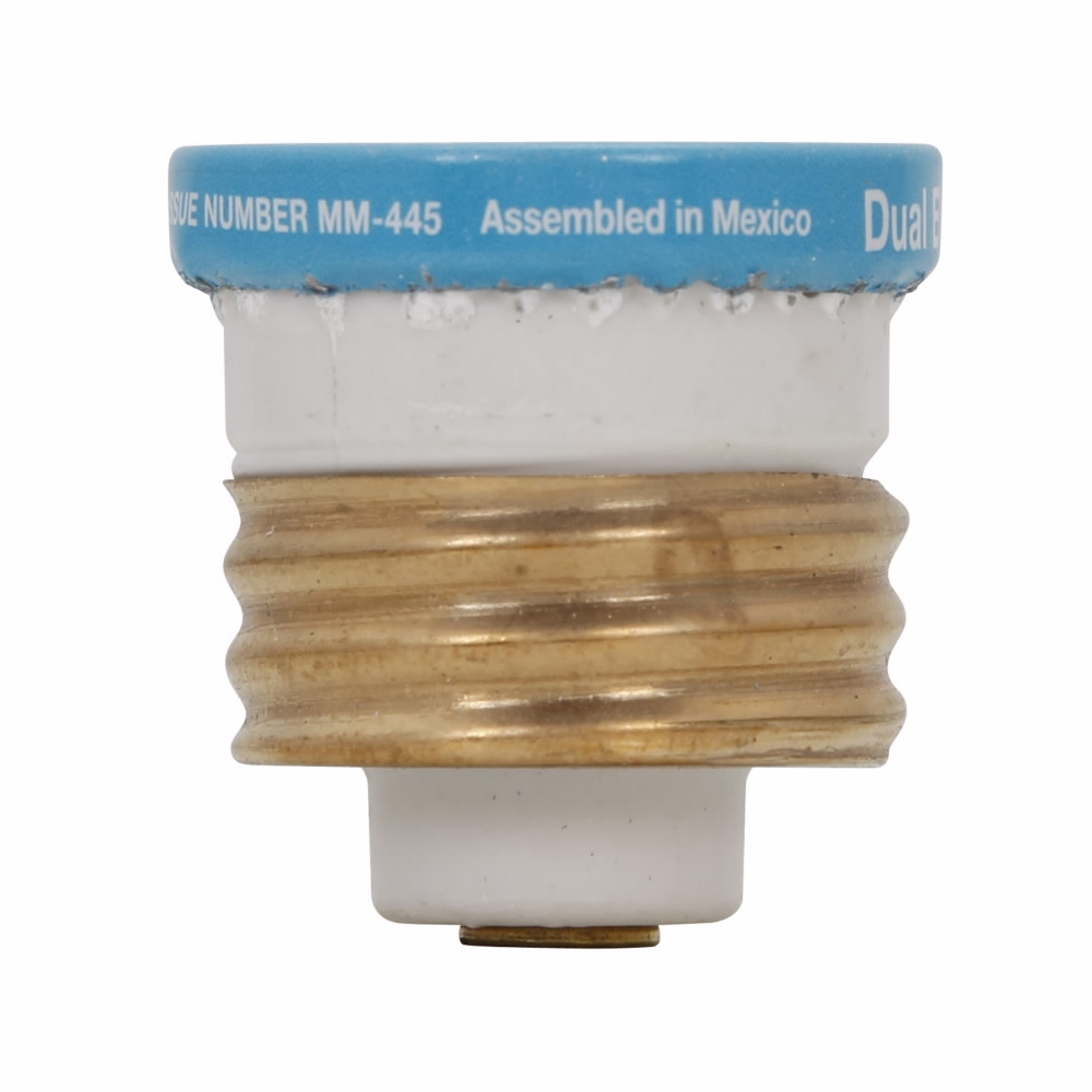 Picture of Bussmann BP/T-20 Time-Delay Plug Fuse, 20 A, 125 V, 10 kA Interrupt, Plastic Body, Low-Voltage Fuse