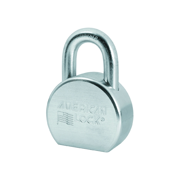 Picture of American Lock A702 Padlock, Keyed Different Key, 7/16 in Dia Shackle, 1-1/16 in H Shackle, Boron Steel Shackle
