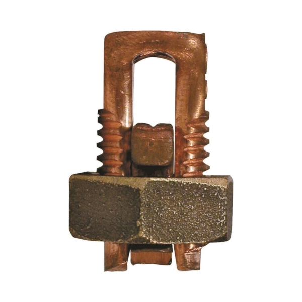 Picture of GB GSBC-1/0 Split Bolt Connector, 1/0 AWG Wire, Copper, Copper