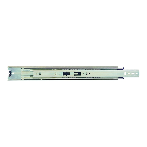 Picture of KV True-Trac TT100P 450 Drawer Slide, 100 lb, 450 mm L Rail, 12.7 mm W Rail, Zinc