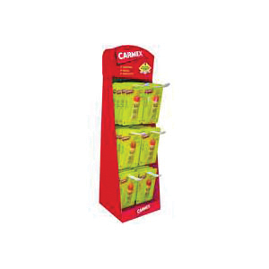 Picture of Carmex 7-92554-00314-8 Lip Care Counter Display, 0.38 oz Package