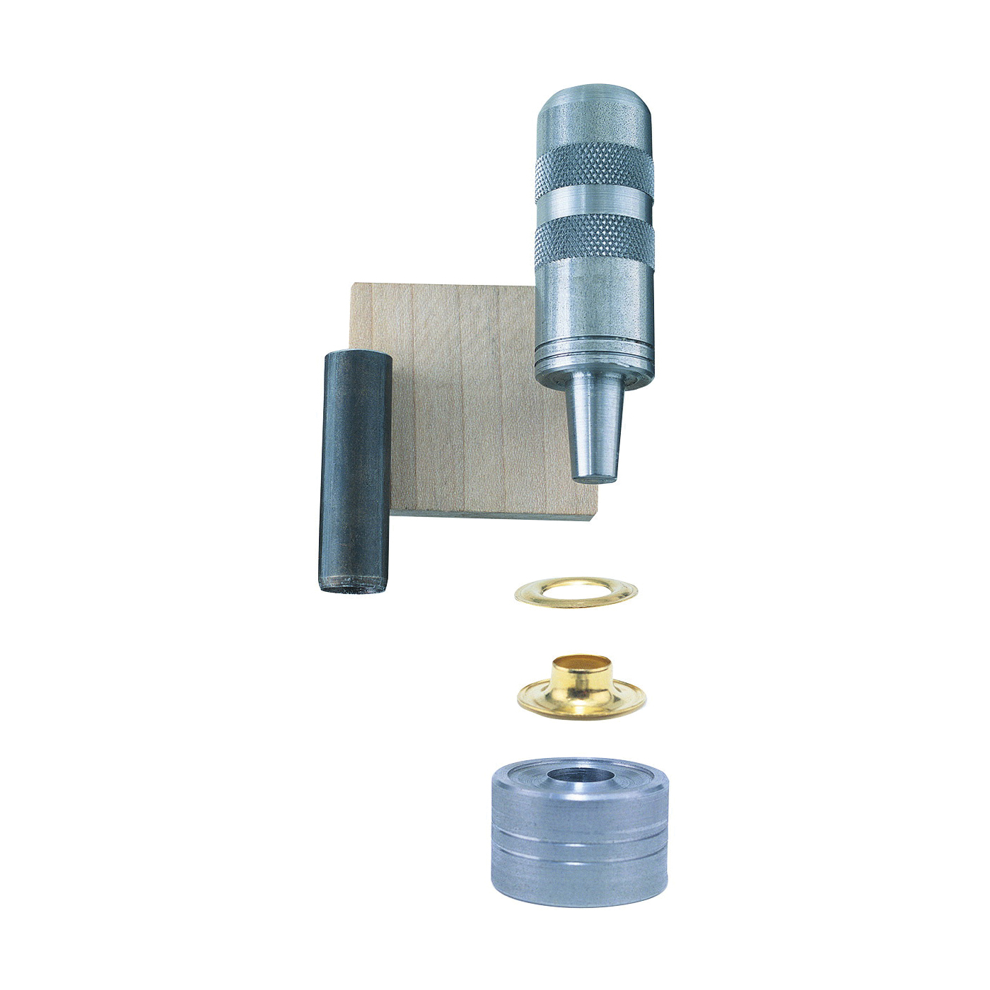 Picture of GENERAL 71260 Utility Grommet Kit, Brass, Black Oxide