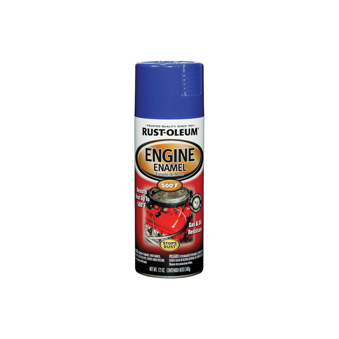 Picture of RUST-OLEUM AUTOMOTIVE 248945 Engine Enamel Spray Paint, Ford Blue, 12 oz, Aerosol Can