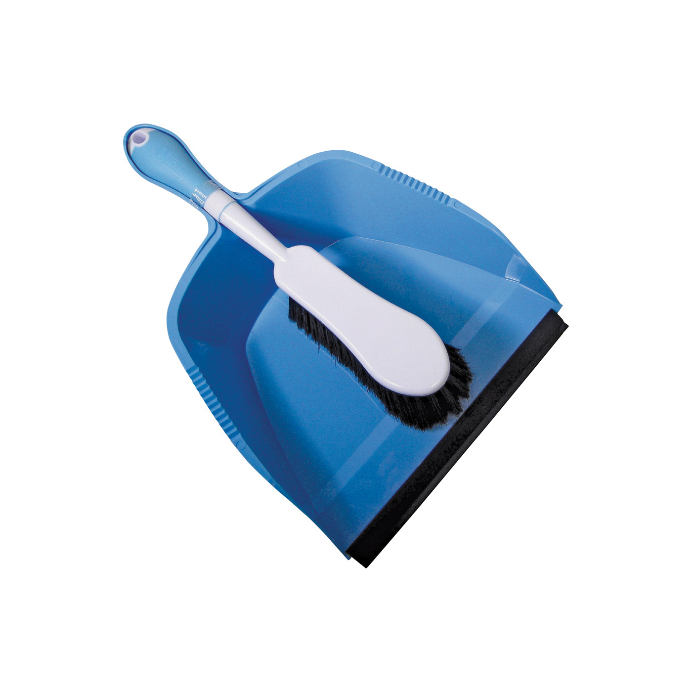 Picture of Quickie 410 Dustpan and Brush Set, Plastic/Poly Fiber