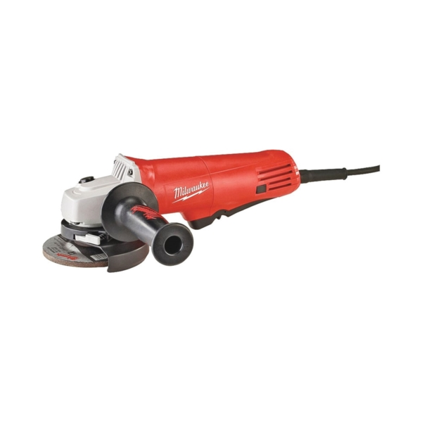Picture of Milwaukee 6140-30 Angle Grinder, 120 VAC, 7.5 A, 825 W, 5/8-11 Spindle, 4-1/2 in Dia Wheel, 10,000 rpm Speed