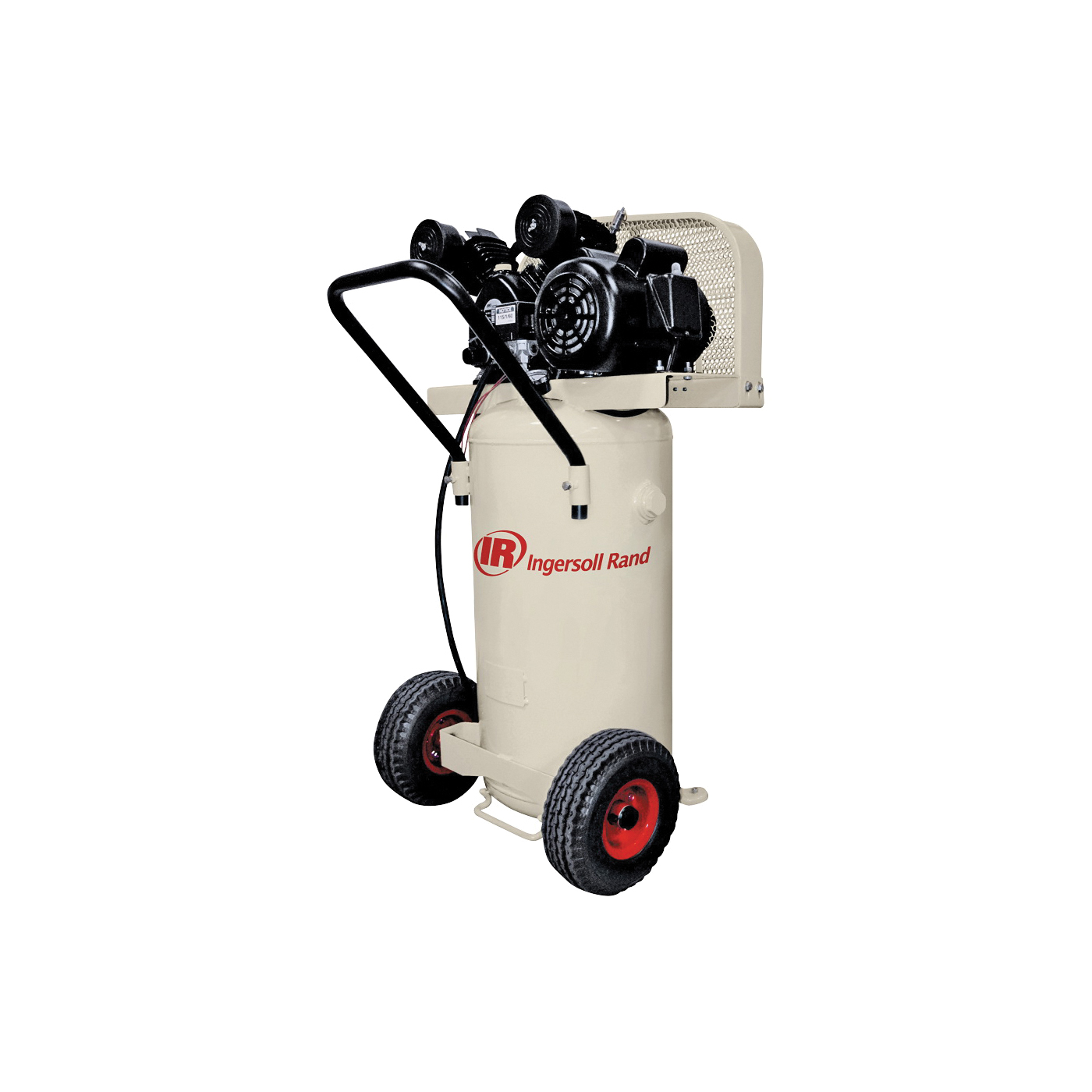 Picture of Ingersoll Rand P1.5IU-A9 Small Portable Reciprocating Air Compressor, 20 gal Tank, 2 hp, 115 V, 135 psi Pressure