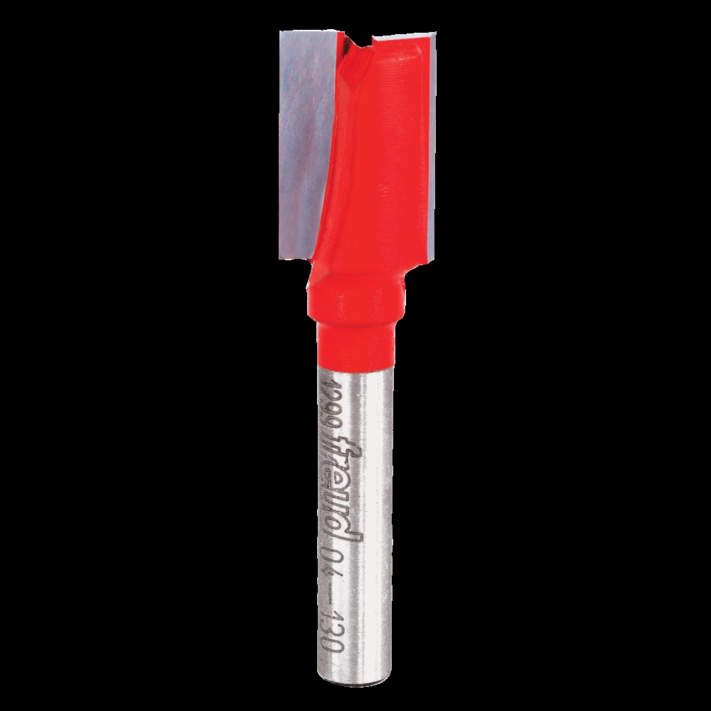 Picture of Freud 04-130 Router Bit, 1/2 in Dia Cutter, 2-1/4 in OAL, 1/4 in Dia Shank, 2 -Cutter, Carbide
