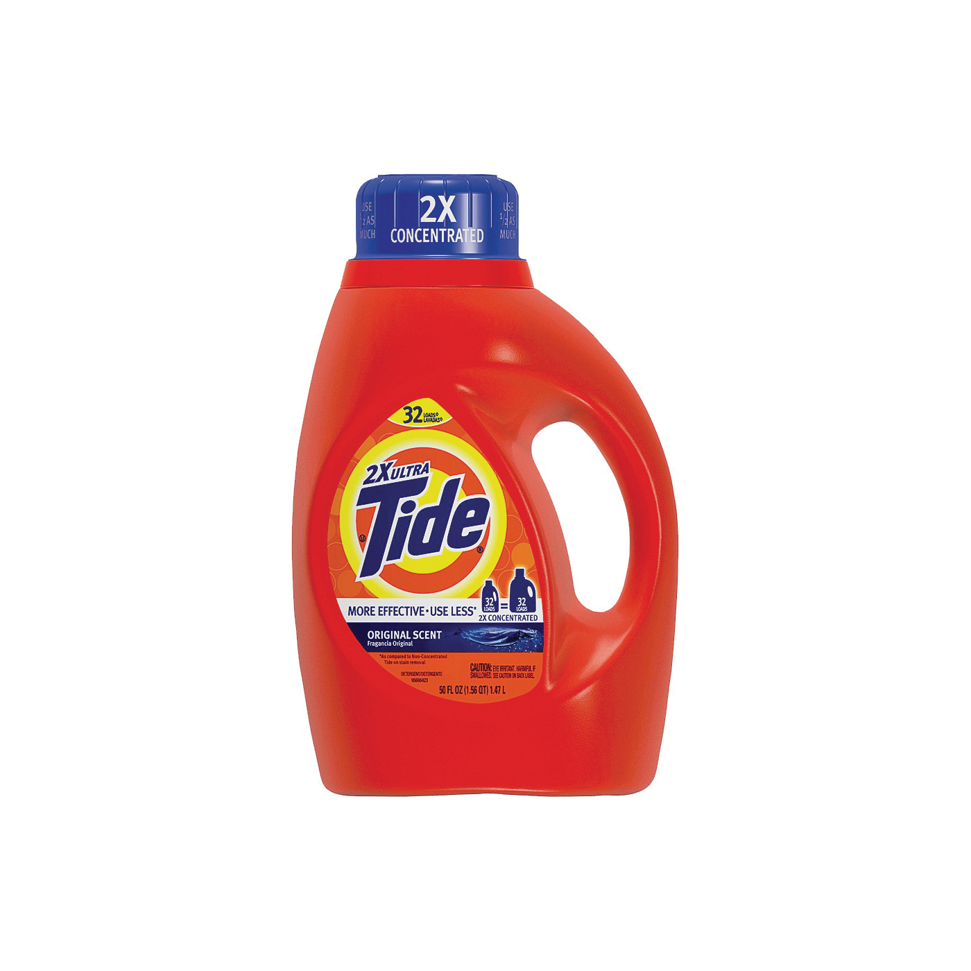 Picture of Tide 4673489 Laundry Detergent, 50 oz, Bottle, Liquid, Original