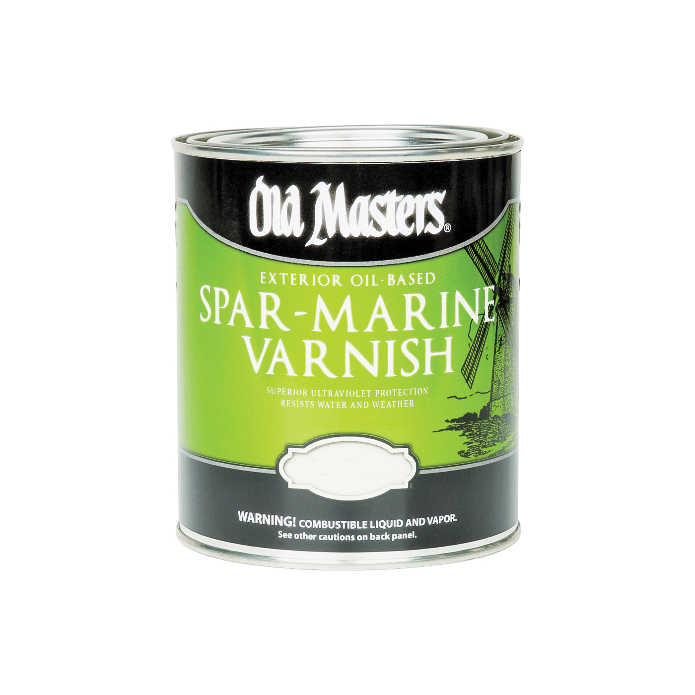 Picture of Old Masters 92401 Spar Marine Varnish, Gloss, Liquid, 1 gal, Pail