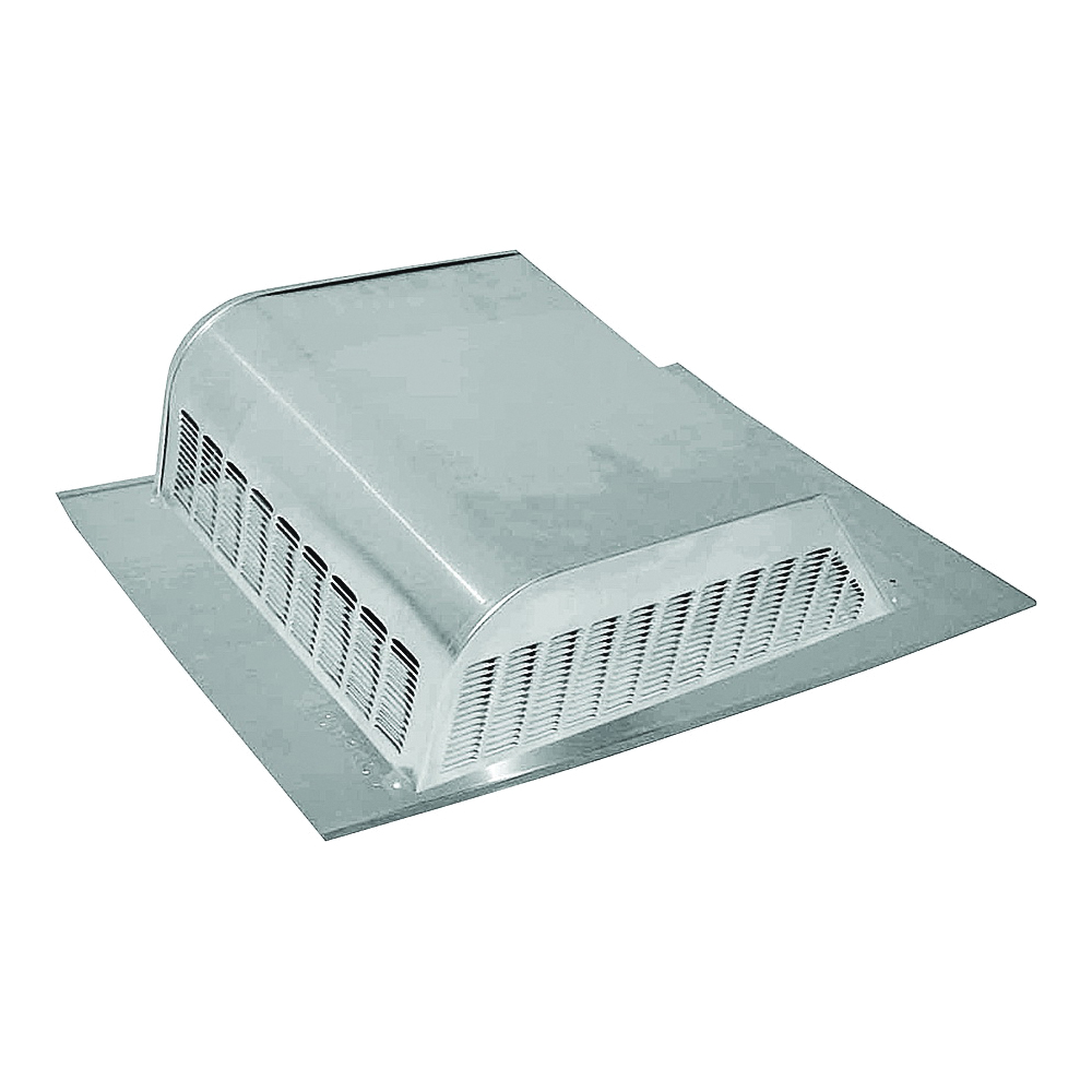 Picture of LOMANCO LomanCool 730 Static Vent, 12-3/16 in OAW, 30 sq-in Net Free Ventilating Area, Aluminum, Mill
