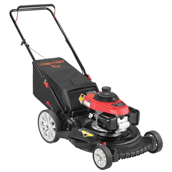 Picture of Troy-Bilt 11A-B2RQ766 Walk Behind Lawn Mower, 160 cc Engine Displacement, 21 in W Cutting, Automatic Choke Start