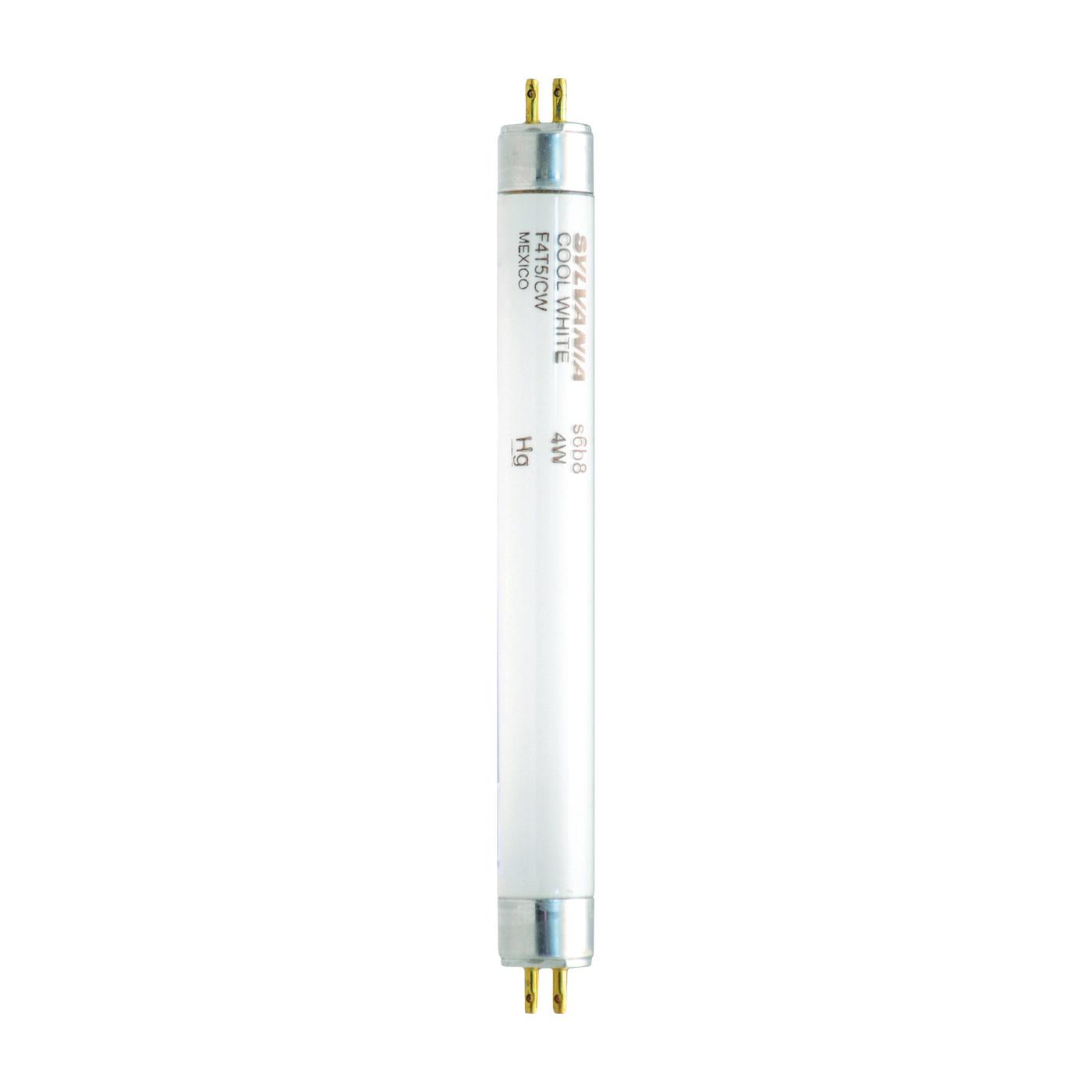 Picture of Sylvania 20415 Fluorescent Lamp, 4 W, T5 Lamp, Miniature G5 Lamp Base, 140 Initial Lumens, 4200 K Color Temp