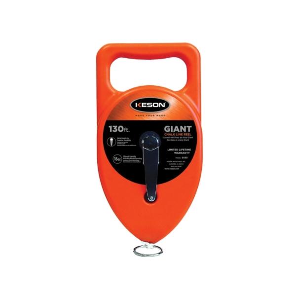 Picture of KESON G130 Chalk Line Reel, 130 ft L Line