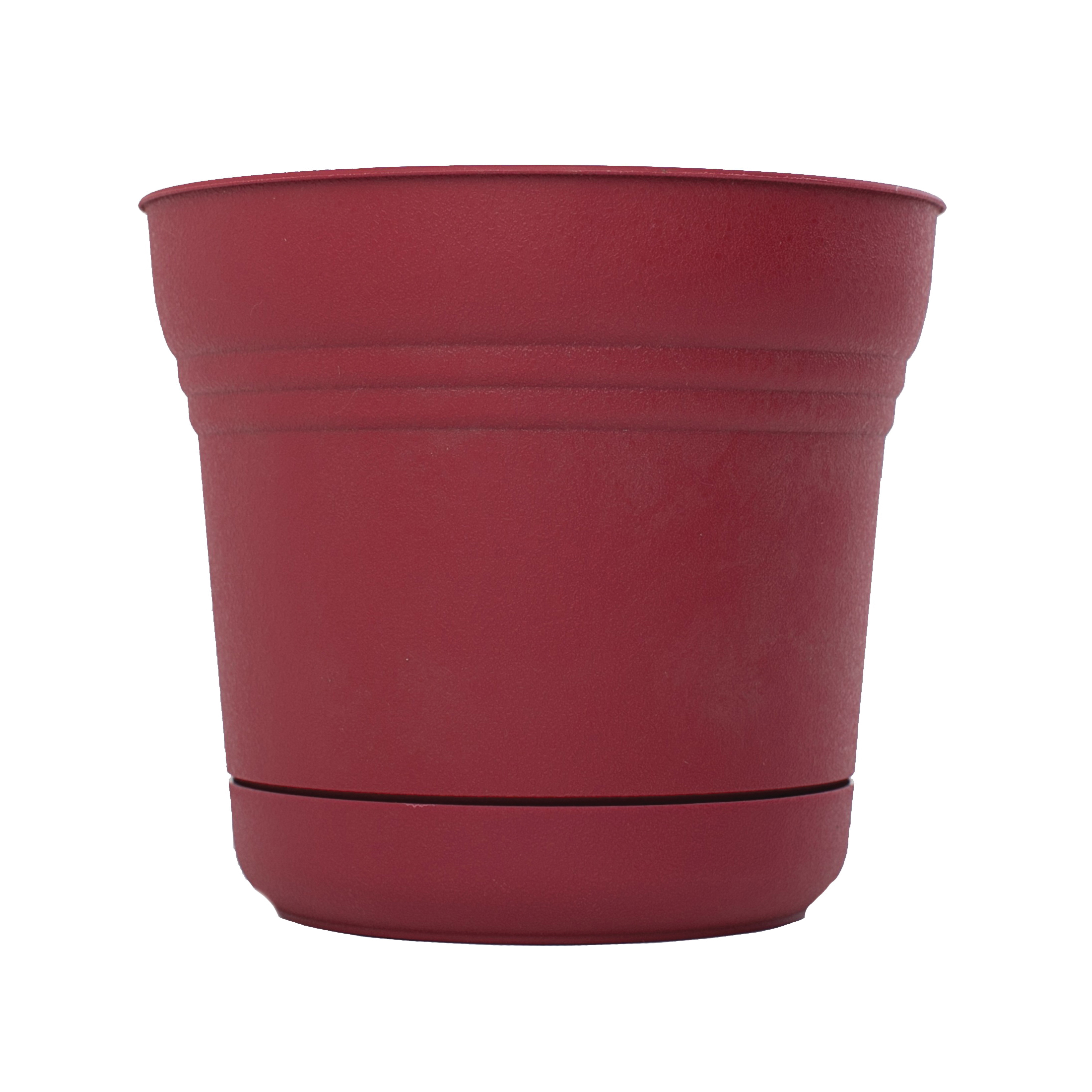 Picture of Bloem Saturn SP0512 Planter, 4-1/2 in W, Polypropylene, Union Red