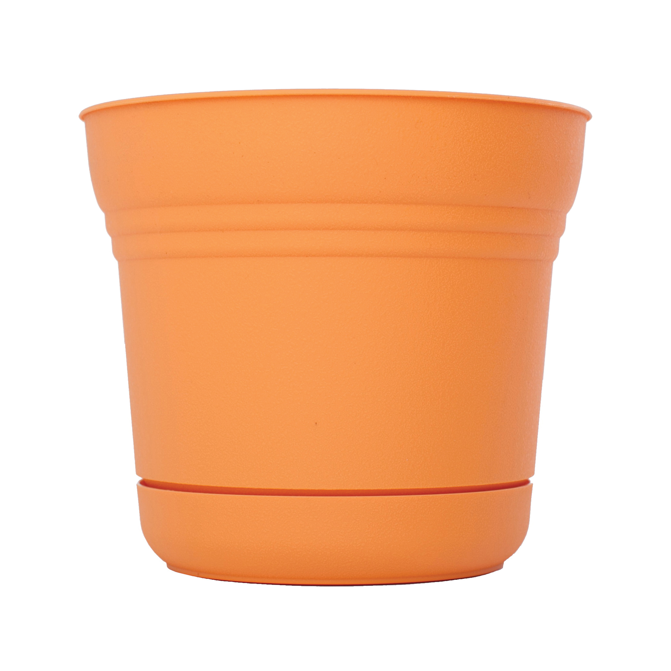 Picture of Bloem Saturn SP0720 Planter, 6-1/2 in W, Polypropylene, Tequila Sunrise