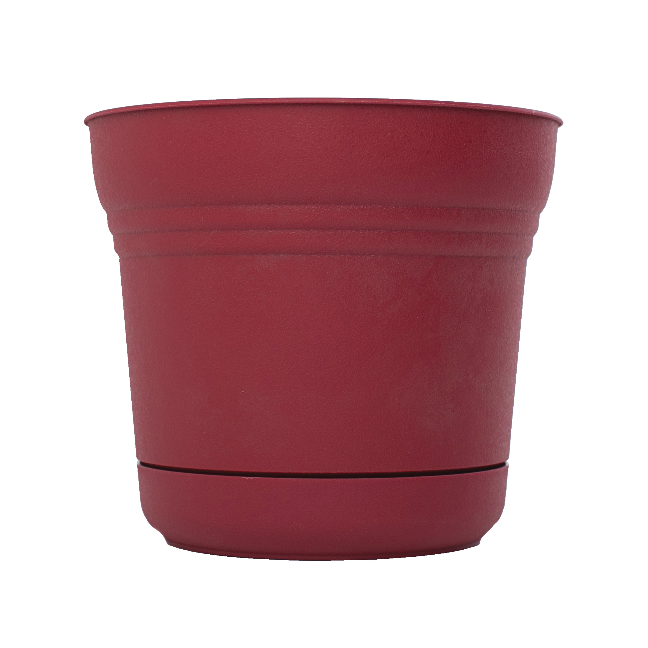 Picture of Bloem Saturn SP1012 Planter, 8-1/2 in W, Plastic, Union Red