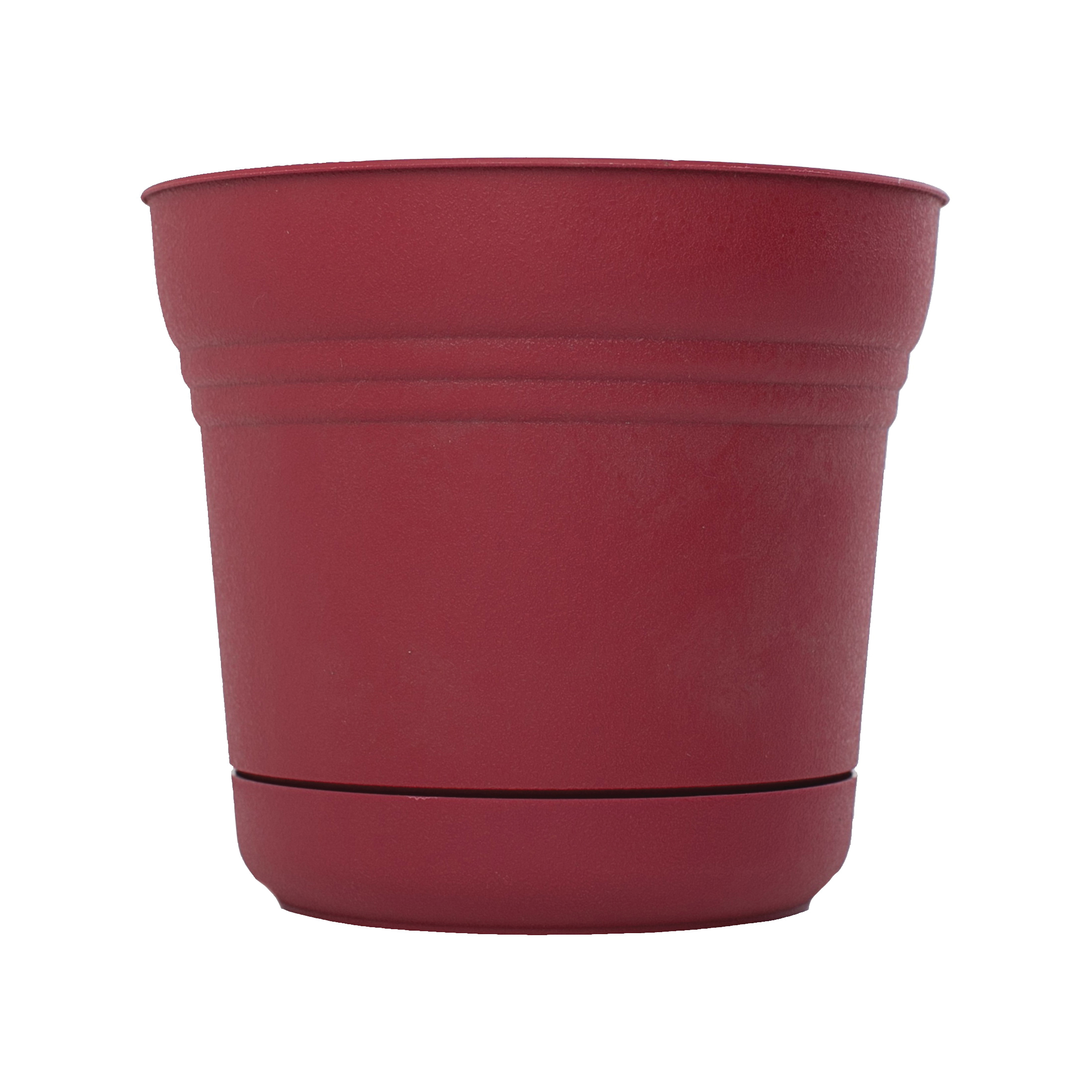 Picture of Bloem Saturn SP1212 Planter, 10.8 in W, Polypropylene, Union Red