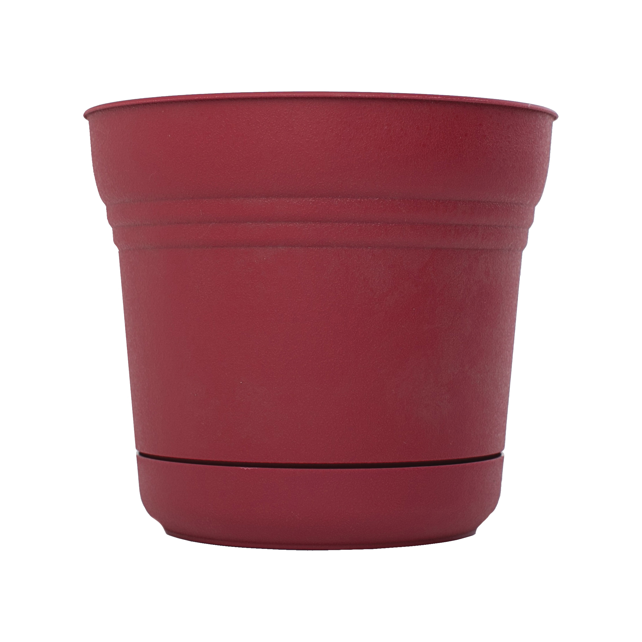 Picture of Bloem Saturn SP1412 Planter, 12.8 in W, Plastic, Union Red