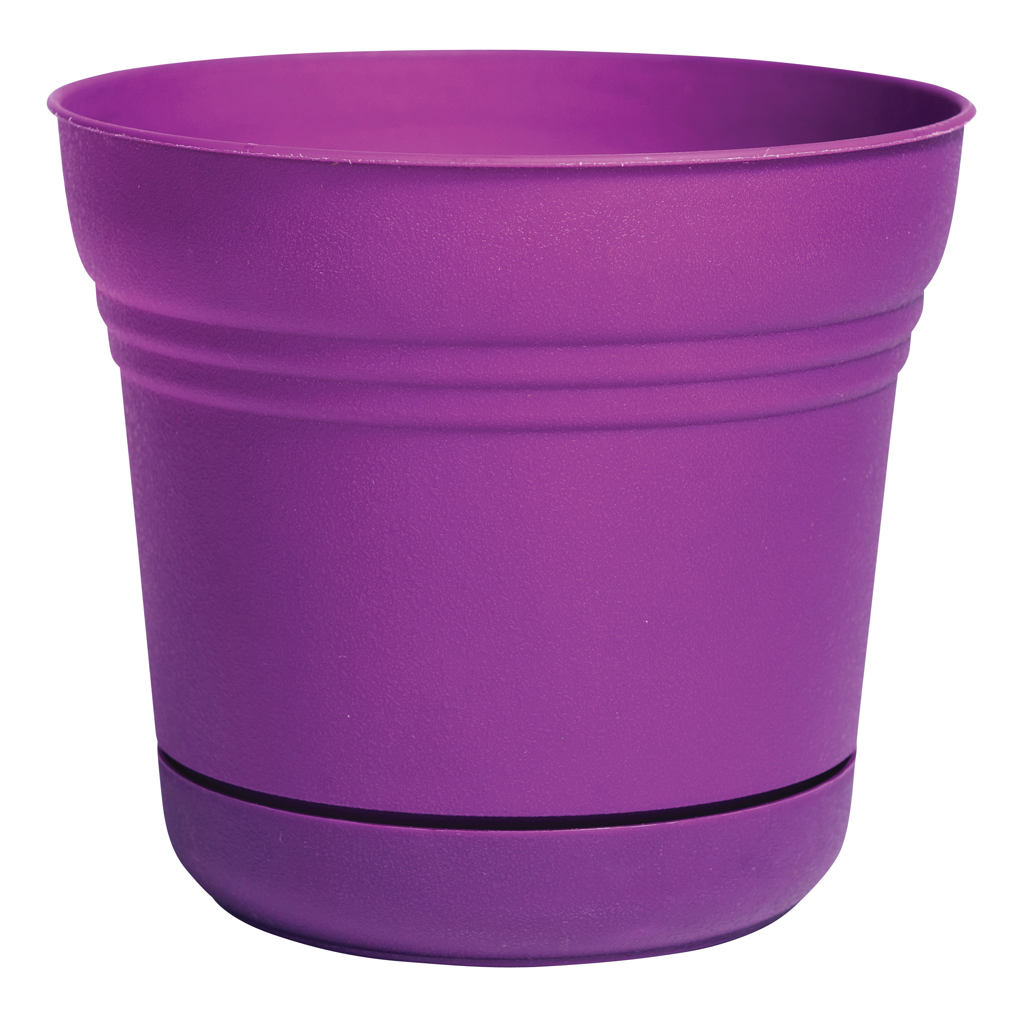 Picture of Bloem SP1029 Saturn Planter, 9.8 in W, Bell, Plastic, Passion Fruit, Matte