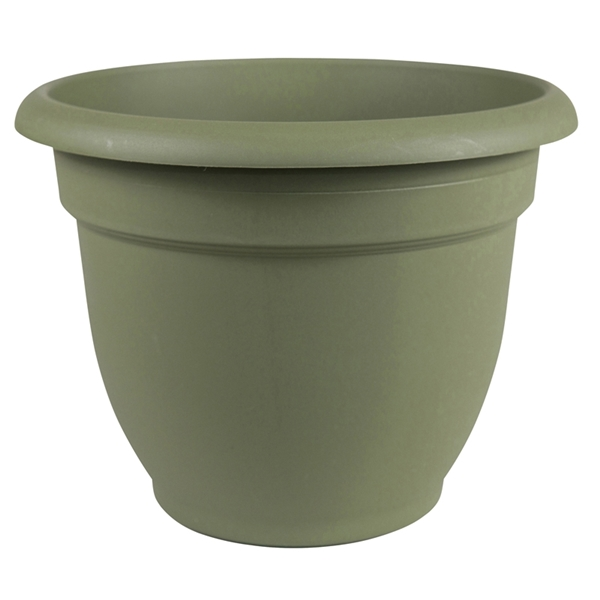 Picture of Bloem 20-56408 Self-Watering Planter, 8 in Dia, 8-3/4 in W, Round, Plastic, Living Green