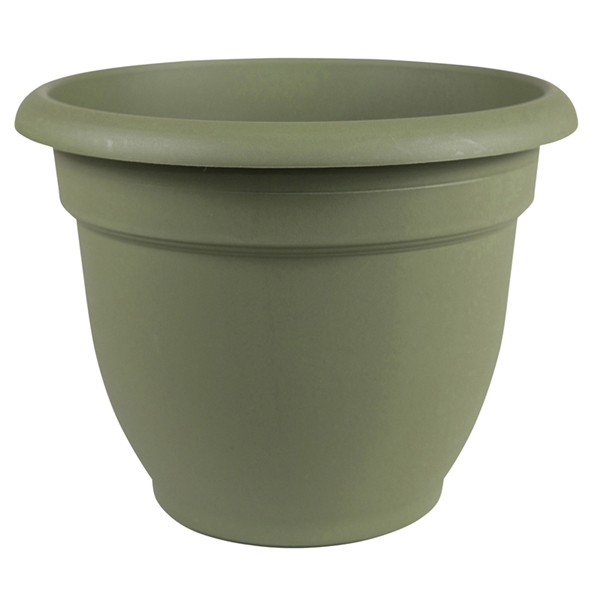 Picture of Bloem 20-56410 Self-Watering Planter, 10 in Dia, 11 in W, Round, Plastic, Living Green