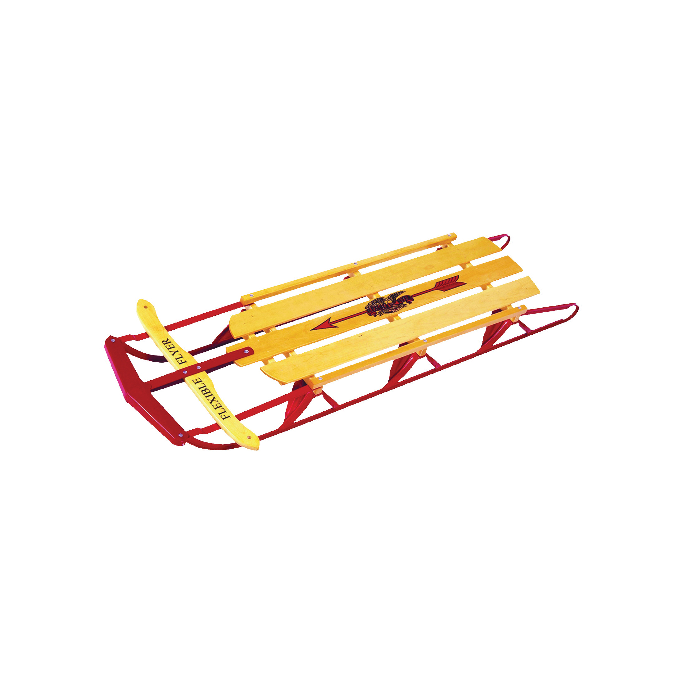 Picture of PARICON 1060 Flyer Snow Sled, Flexible, 5-Years Old Capacity, Steel, Red