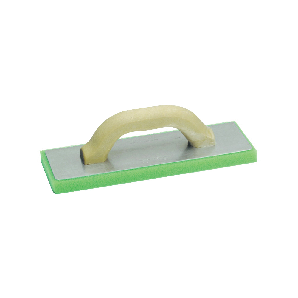 Picture of Marshalltown 46LG Masonry Float, 12 in L Blade, 4 in W Blade, 3/4 in Thick Blade, Fine Cell Plastic Foam Blade