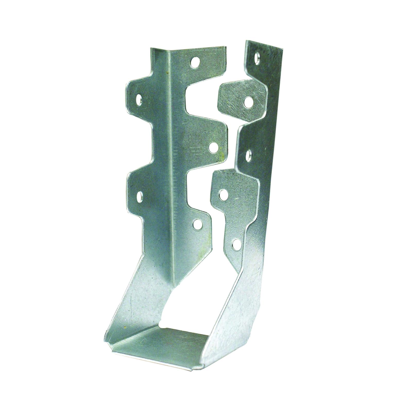Picture of MiTek JL28IF-TZ Joist Hanger, 6-1/8 in H, 1-1/2 in D, 1-9/16 in W, 2 in x 8 to 10 in, Steel, Zinc, Face Mounting