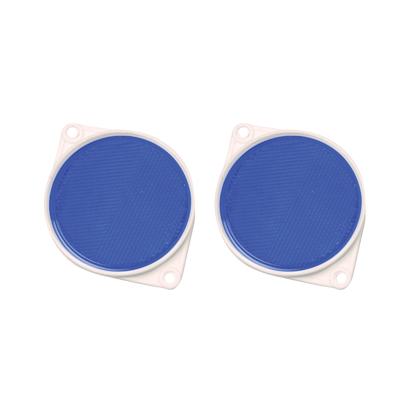 Picture of HY-KO CDRF-3B Carded Reflector, 9.63 in L Post, Blue Reflector