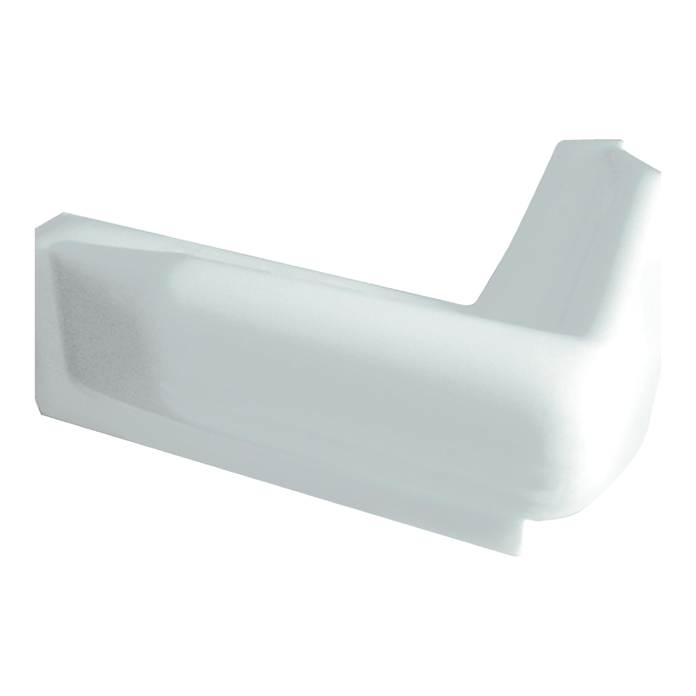 Picture of Multinautic 15003 Corner Bumper, PVC, White, 10 in W, 10 in H