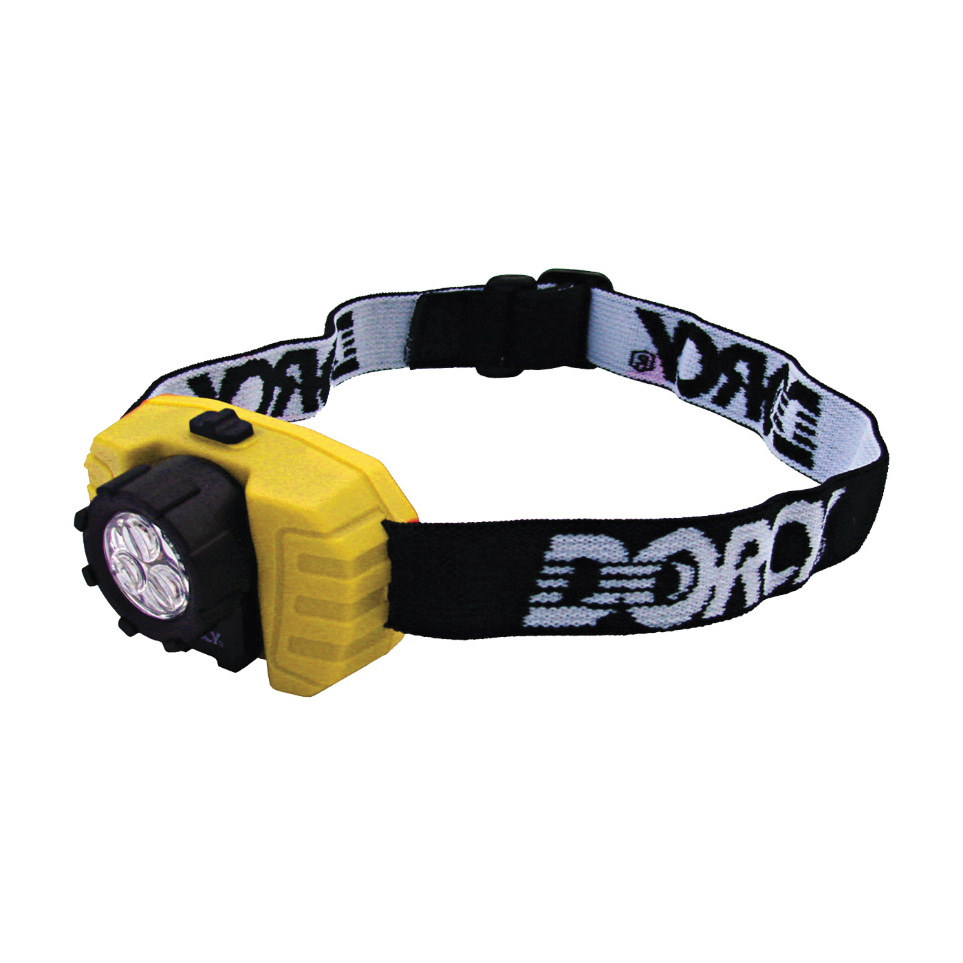 Picture of Dorcy 41-2099 Compact Headlight, AAA Battery, LED Lamp, 50 Lumens, 15 m Beam Distance, 70 hr Run Time
