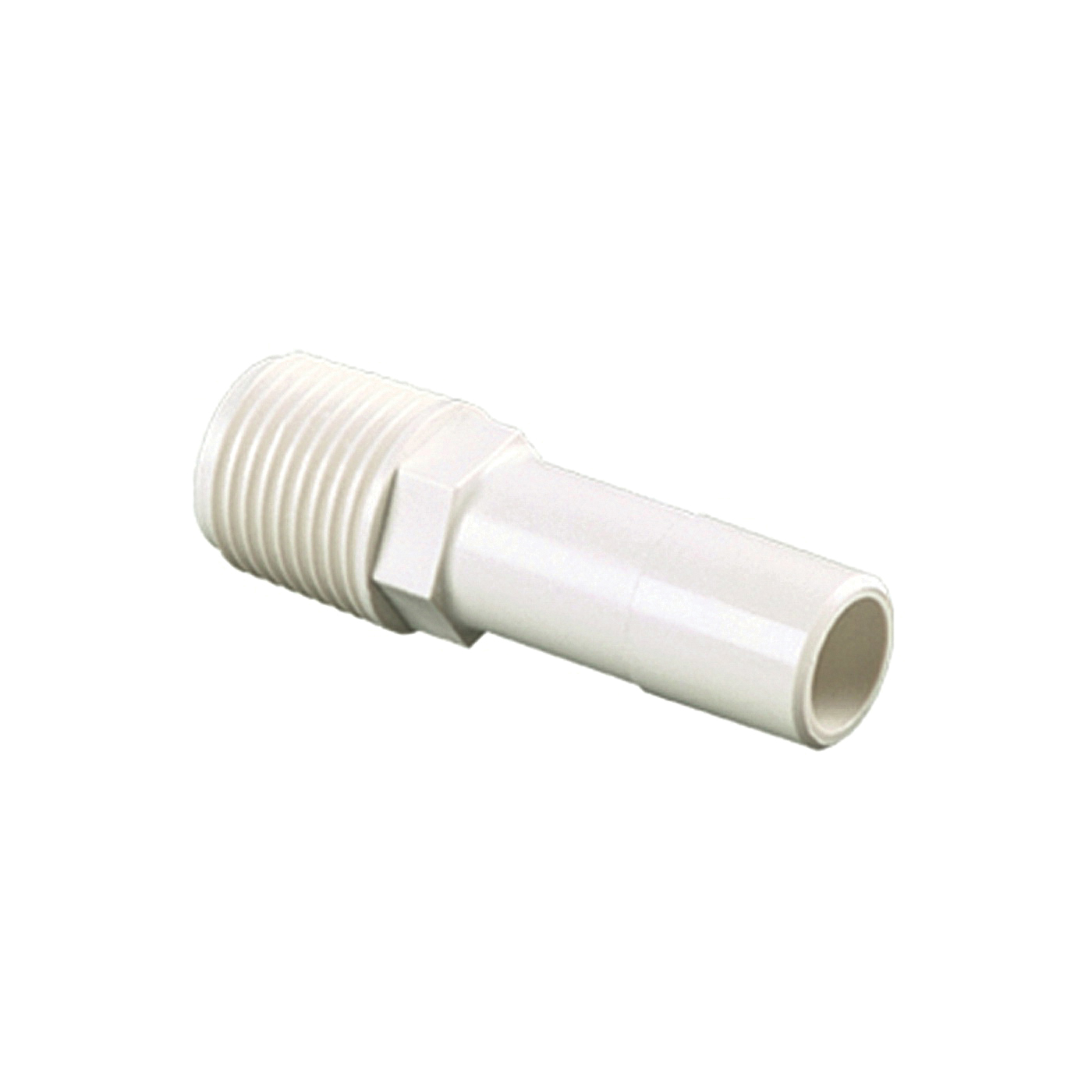 Picture of Watts 35 Series 3527-1008 Stem Connector, 1/2 in CTS, 1/2 in MPT, Off-White