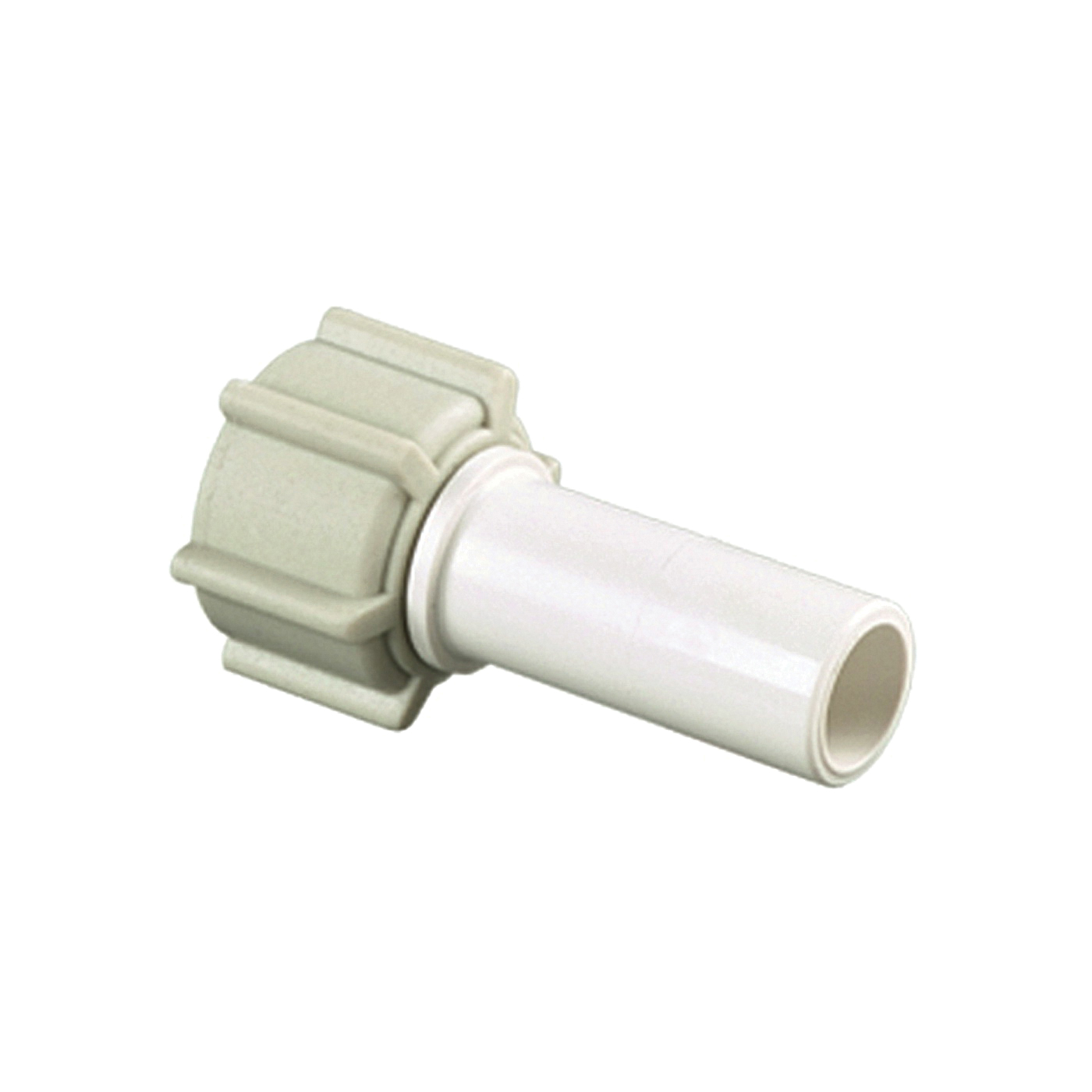 Picture of Watts 35 Series 3528-1008 Stem Connector, 1/2 in CTS, 1/2 in FPT, Off-White