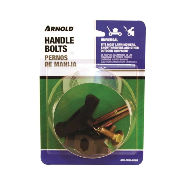 Picture of ARNOLD 490-900-0061 T-Handle Knob and Bolt, For: Most Lawn Mowers, Snow Throwers and Other Outdoor Equipment